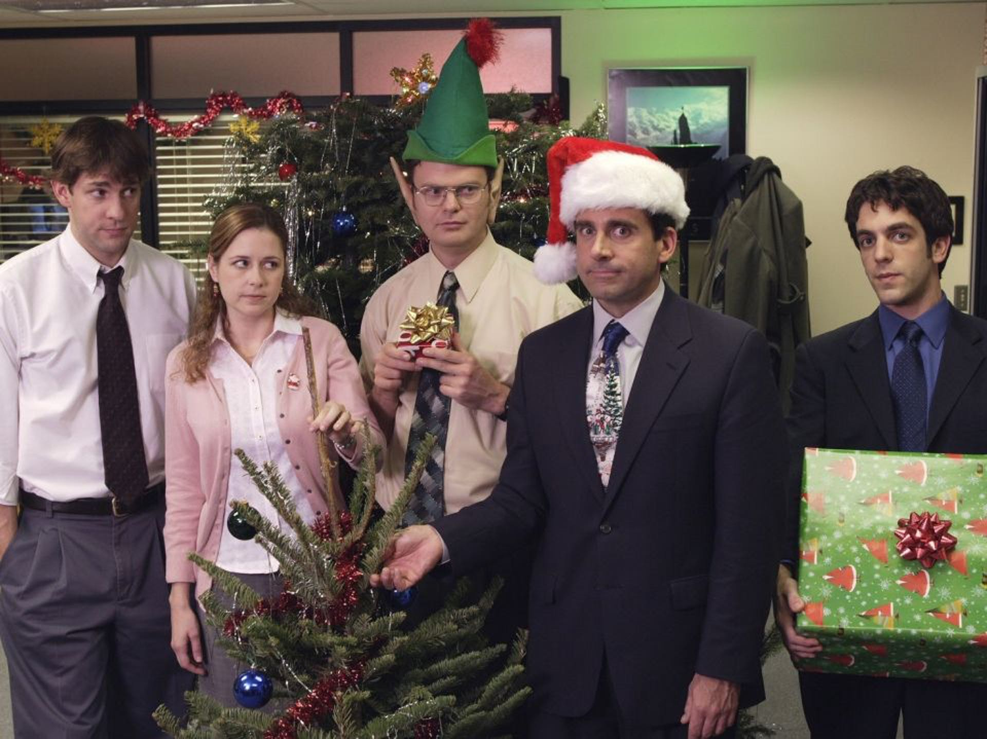 The Office christmas episodes