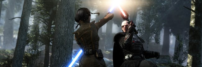 A still from 'Star Wars: The Old Republic'.