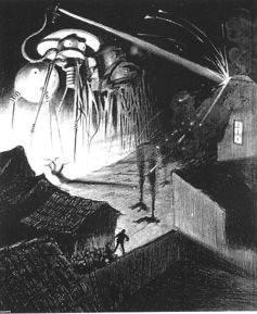 HG Wells' Death Ray.