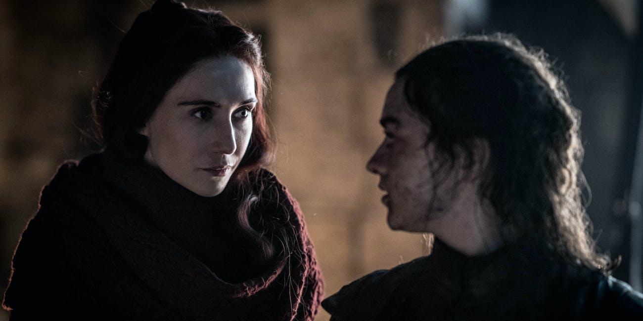 Game of Thrones Melisandre Green Eyes