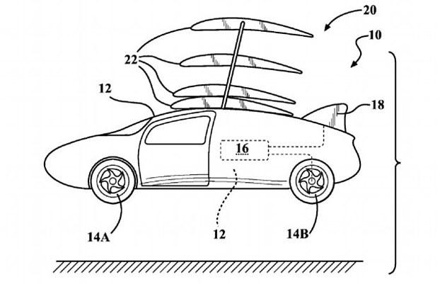 toyota s flying car patent looks like henry ford drawing the wright  toyota s flying car patent looks like henry ford drawing the wright brother s plane