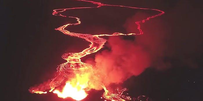 lava kilauea fissure 8 volcano
