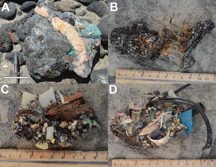 Plastiglomerates from Hawaii aren't your average beach rocks.