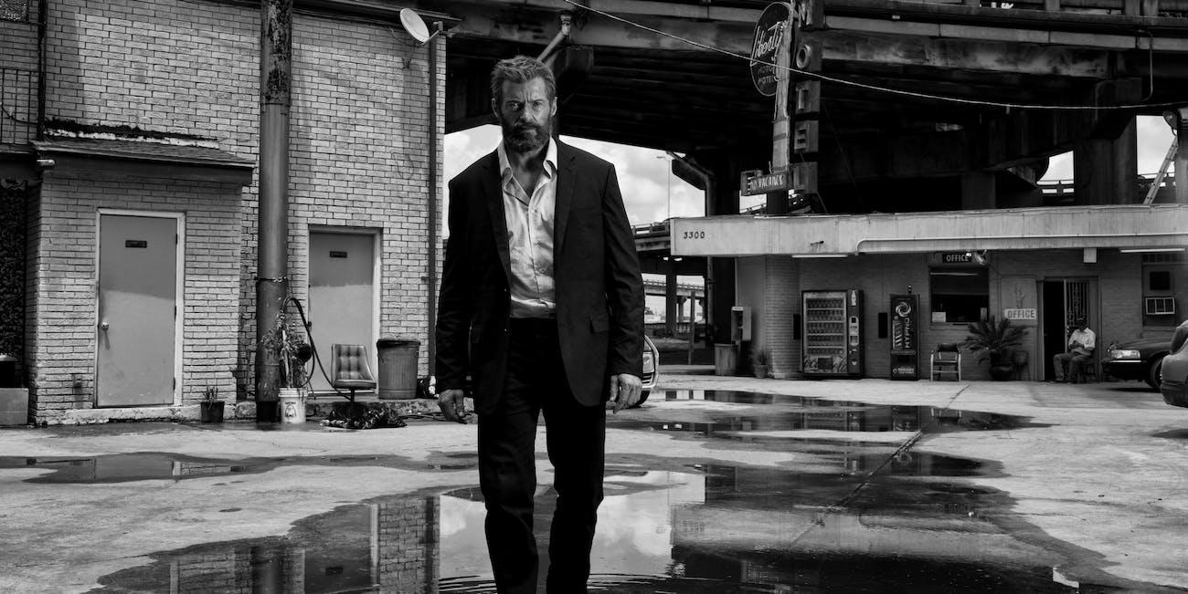 Logan black and white