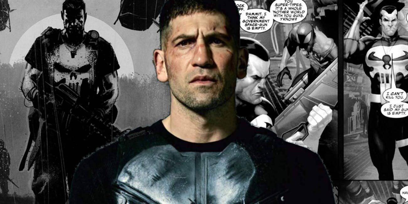 The Punisher Netflix Comics