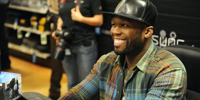 50 Cent TigerDirect Appearance
