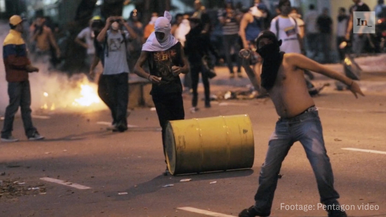 Venezuelan gangs.