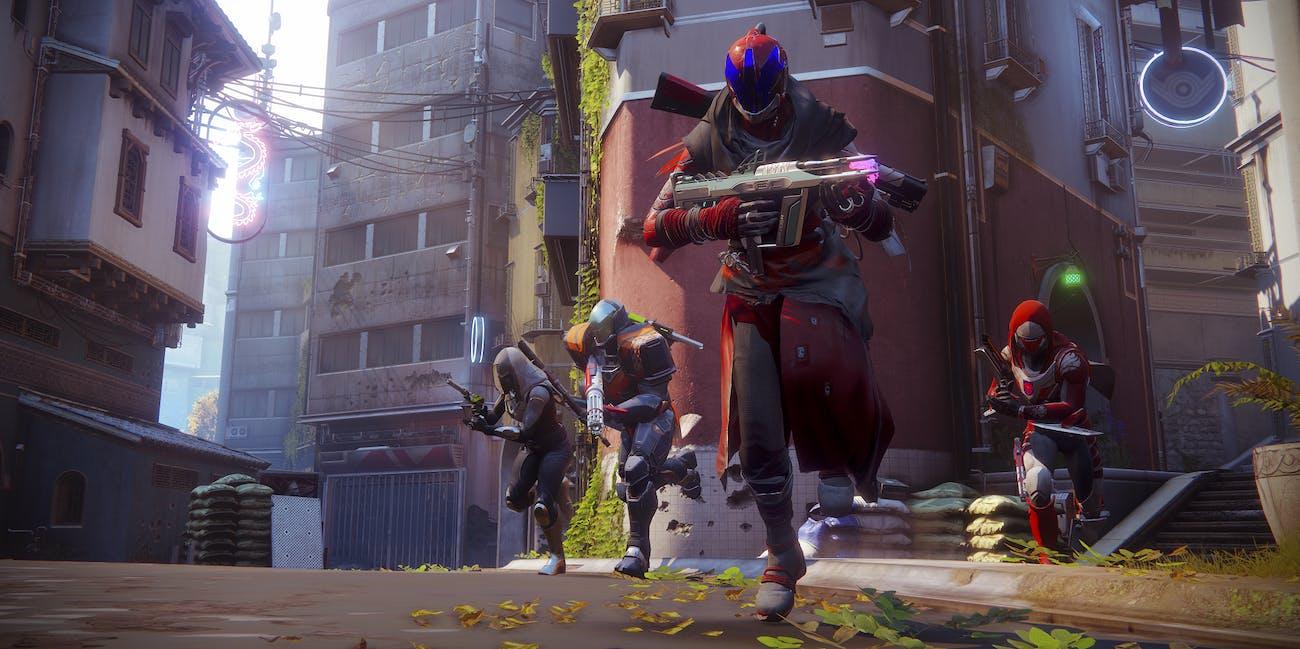 Destiny 2 Bungie Activision Crucible Warlock Hunter Titan