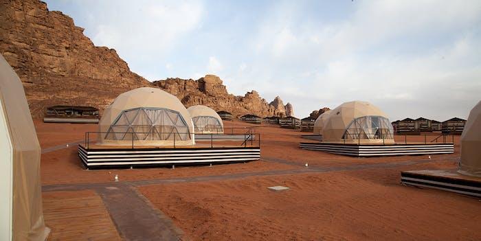 sun city martian dome