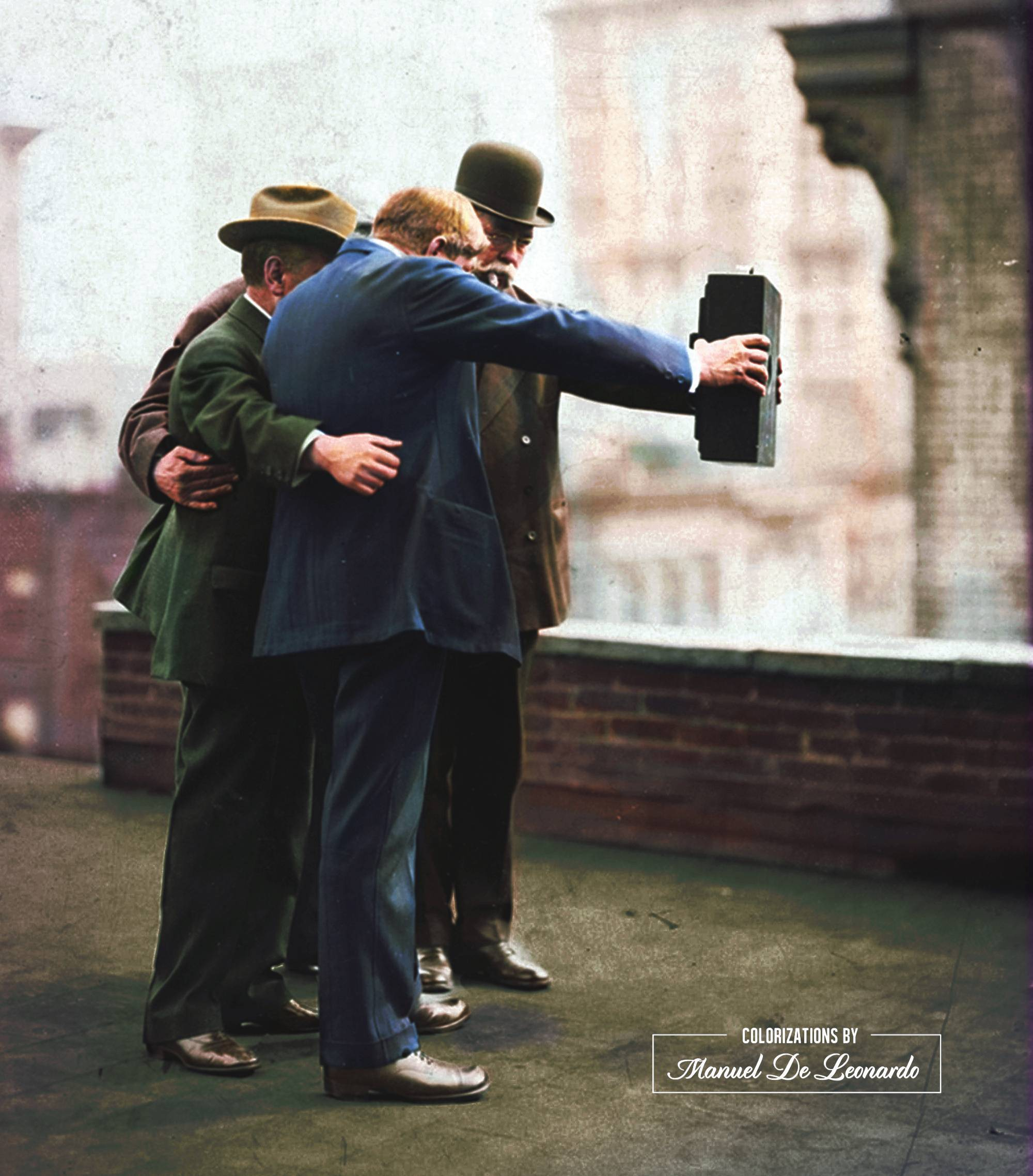 The first selfie ever.