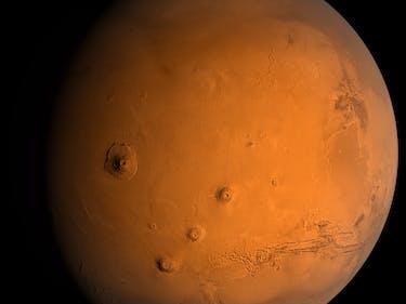 NASA's MAVEN Probe Has Found Metal in Mars Atmosphere