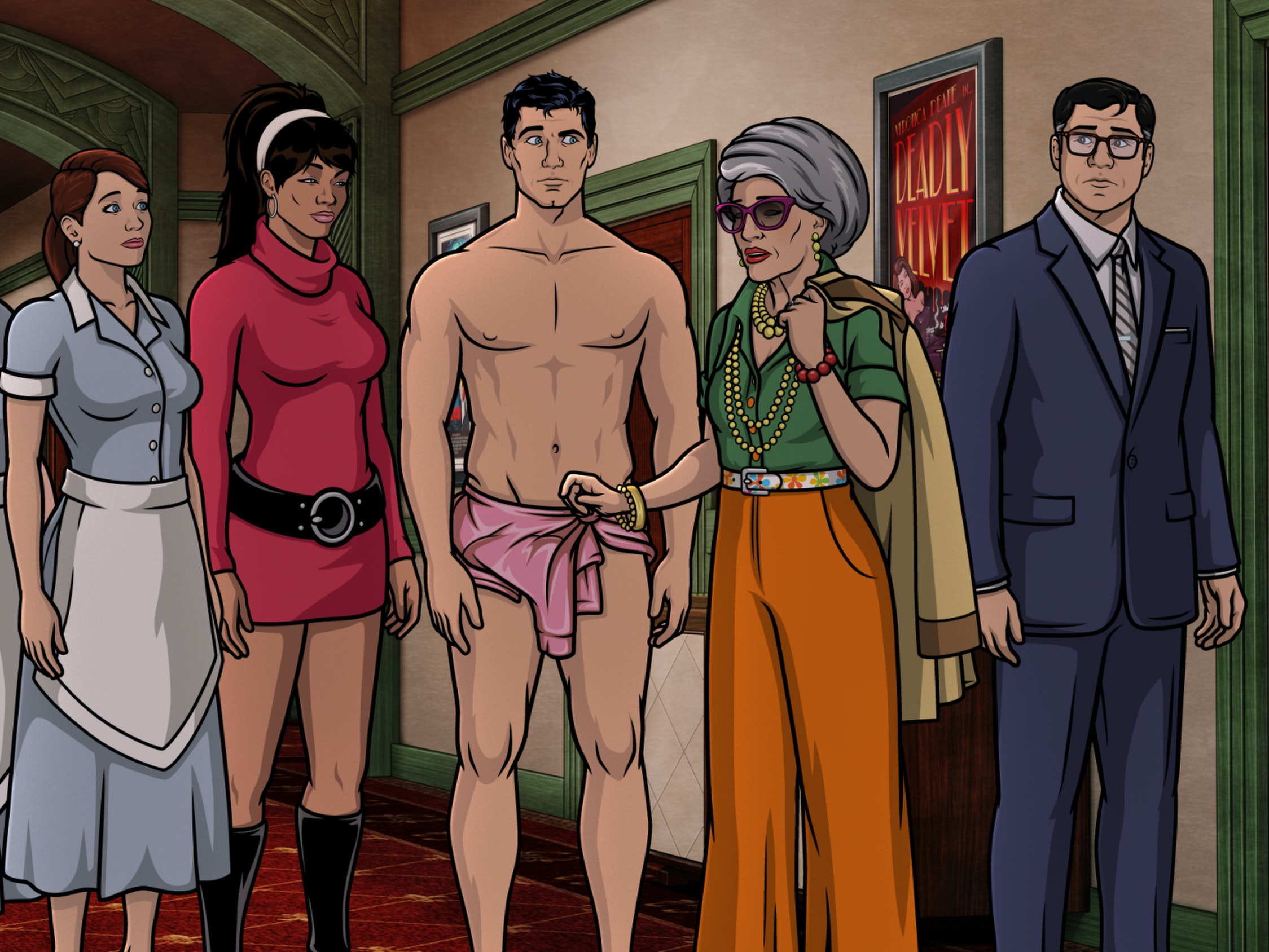 'Archer' Sets Up a Dramatic Series Finale, Goes Full Hollywood Noir