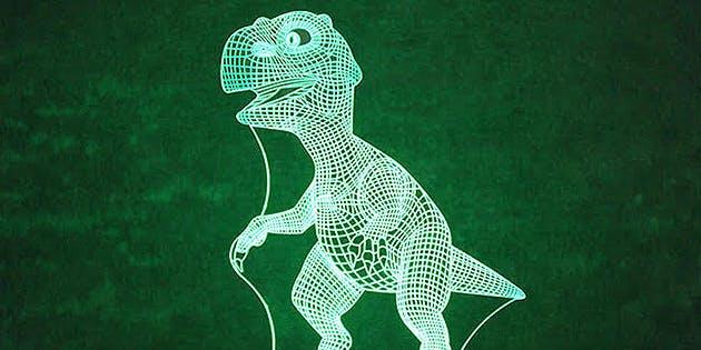 3d dinosaur lamp black friday