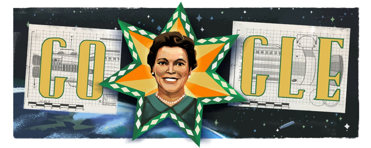 Mary G. Ross Google Doodle.