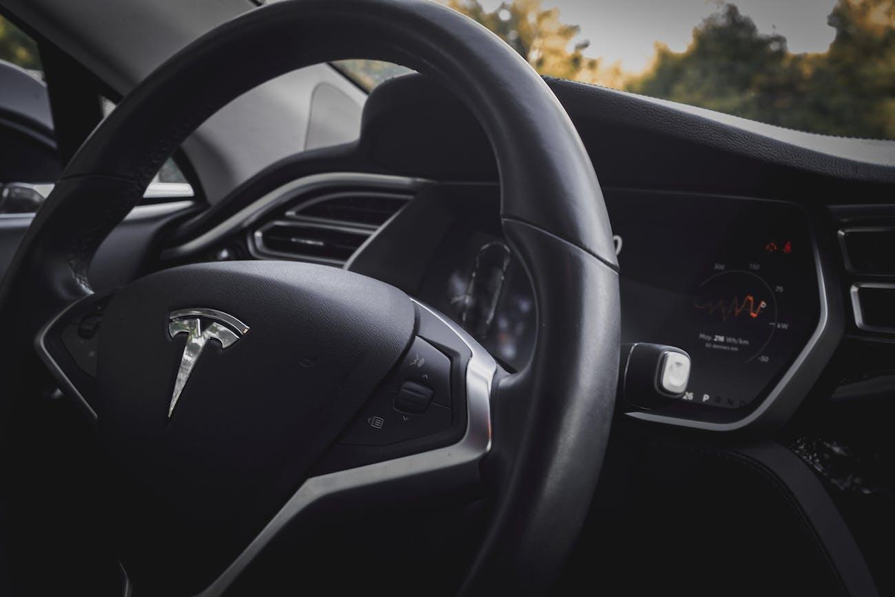 Tesla dashboard