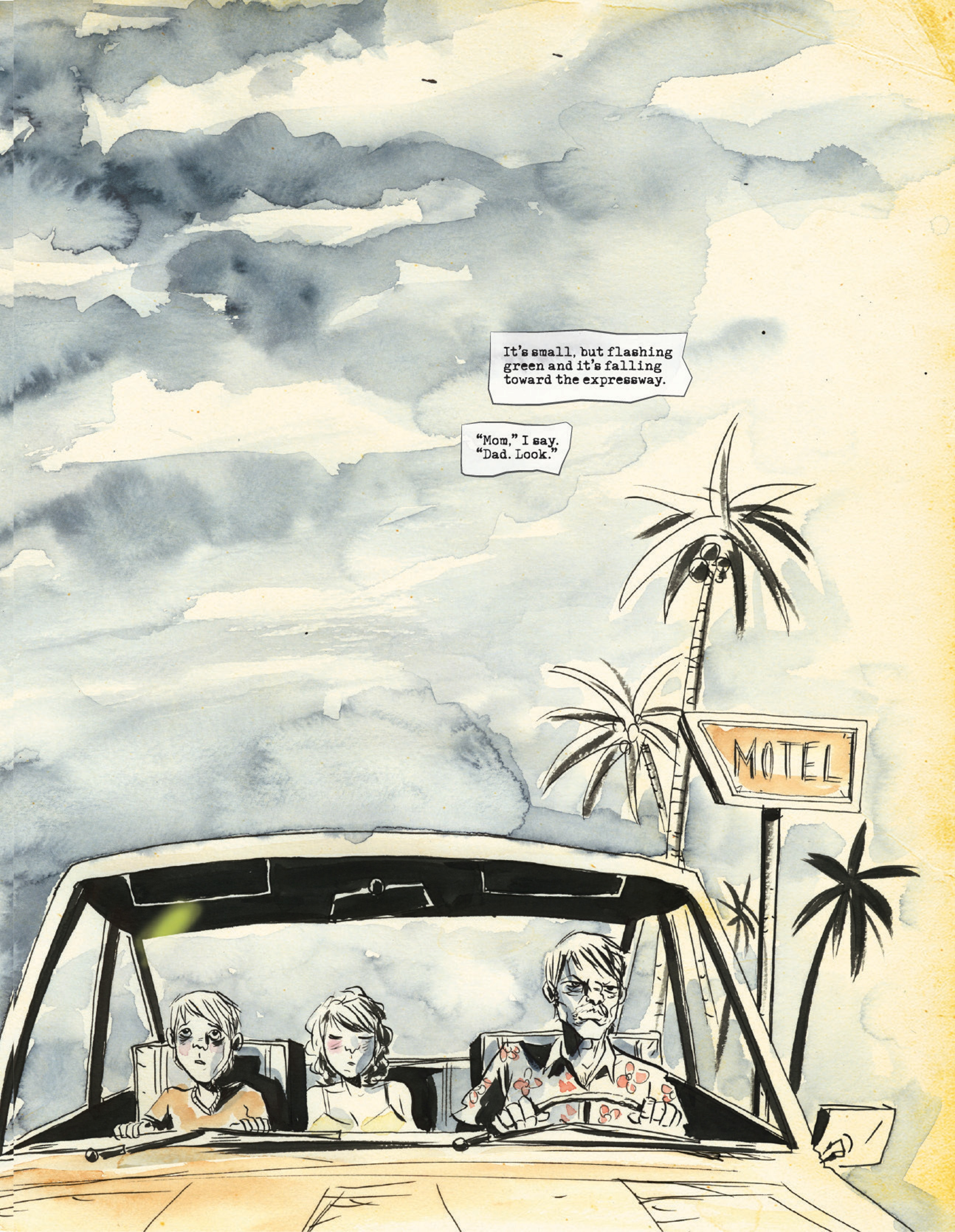 Scene from A.D. After Death from Image Comics