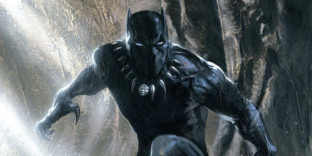 Illustration of Marvel's Black Panther