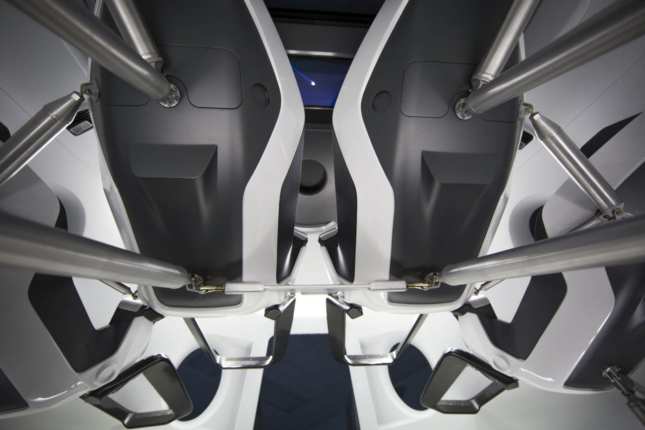 spacex crew dragon interior