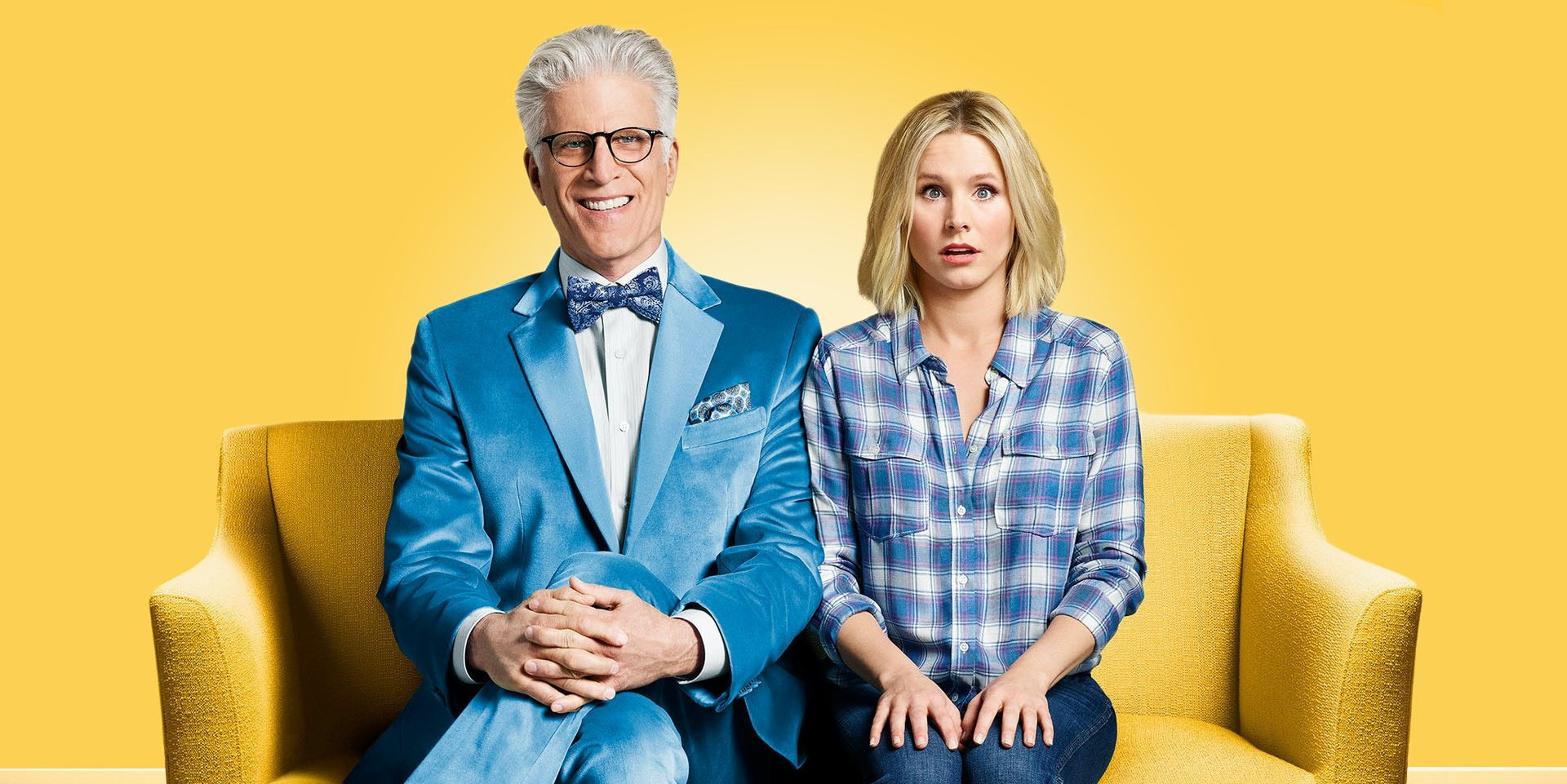 Promotional image for NBC's The Good Place