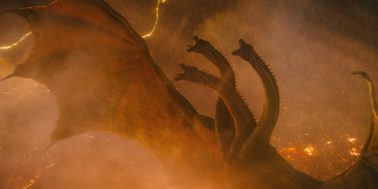 godzilla king of the monsters review Ghidorah