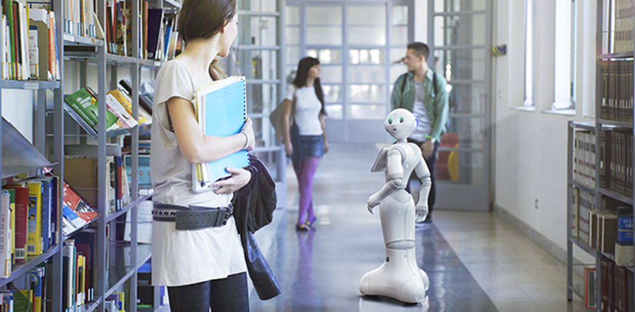 Pepper the Robot's Retail Strategy in America is to