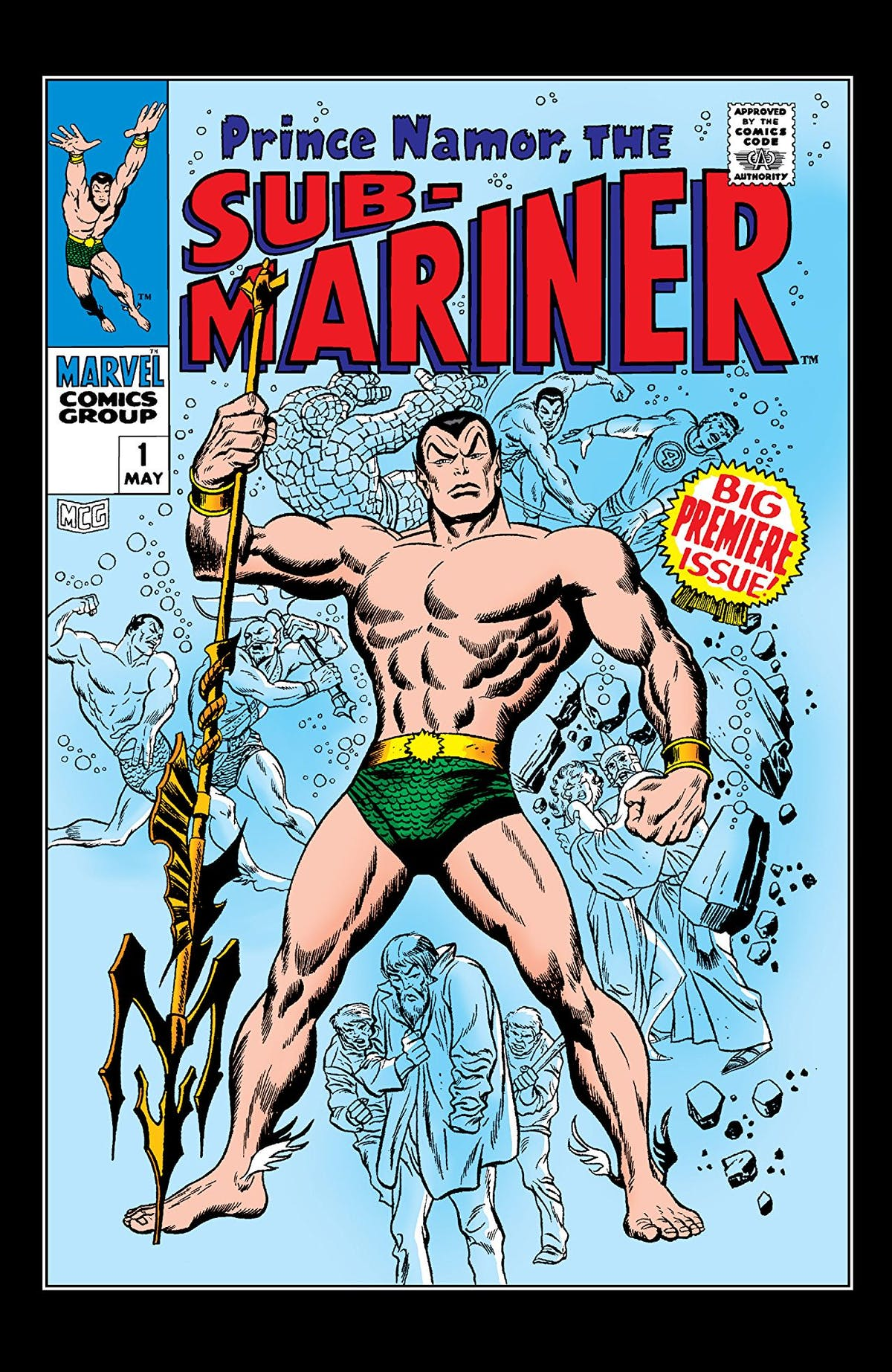 Who Is Namor? Why Marvel's Aquaman May Be Black Panther's Next Nemesis