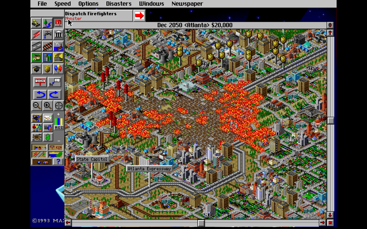 Aliens Attack Atlanta SimCity 2000u0027 Teaches 2016