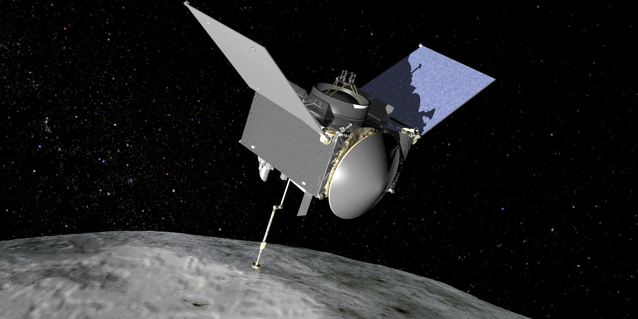 This NASA Mission Will Land on Asteroid, Bring Back Sample