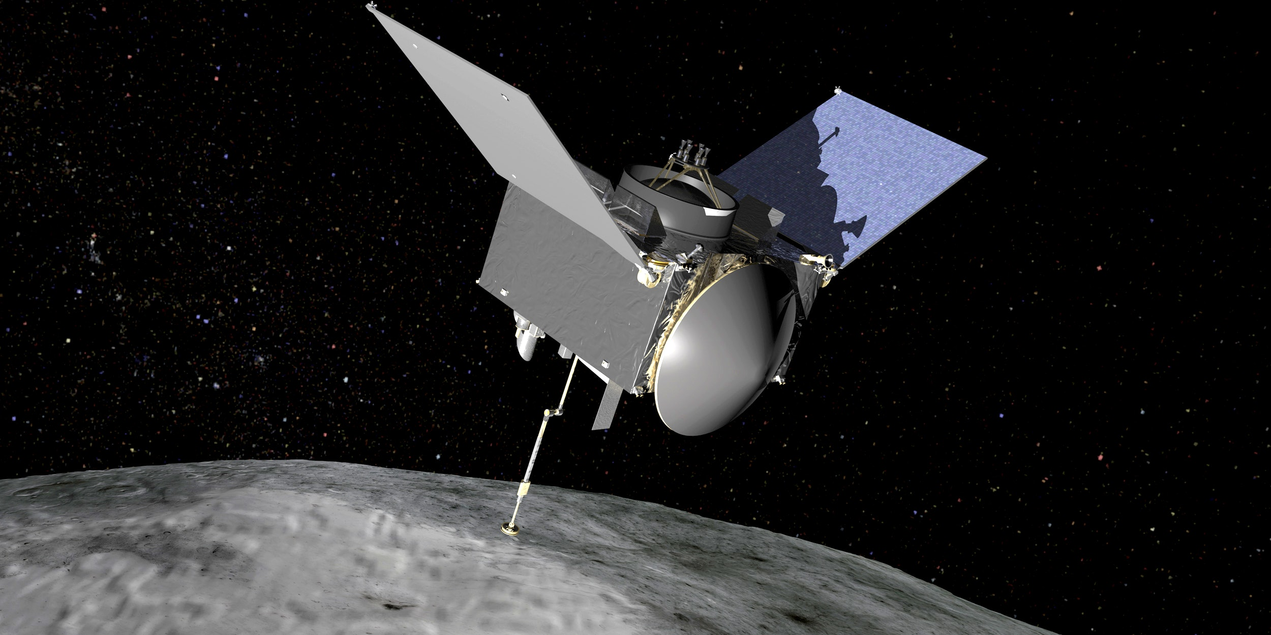 OSIRIS-REx will travel to near-Earth asteroid Benn on a sample return mission
