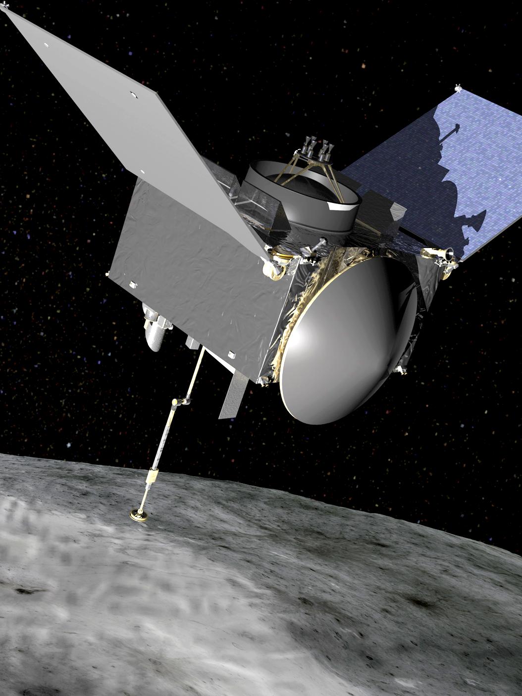 OSIRIS-REx will travel to near-Earth asteroid Benn on a sample return mission