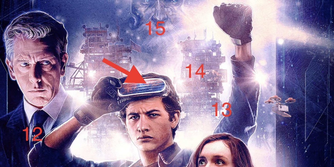 'Ready Player One' poster