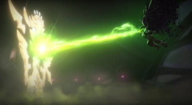 Illidan destroys Xe'ra