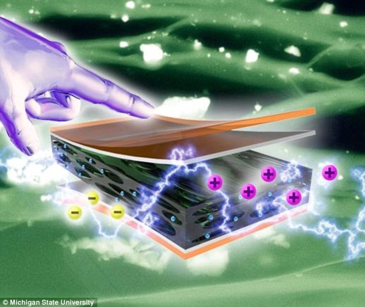 Phone Charging Tech Creates Energy From Movement