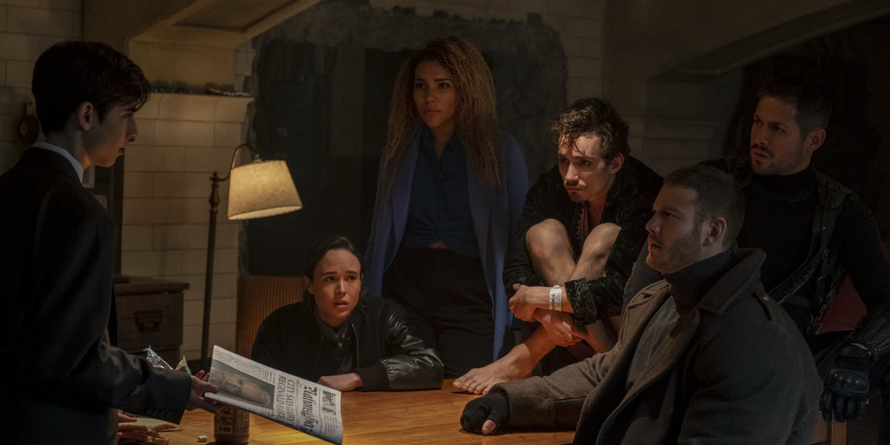 the umbrella academy superheroes netflix