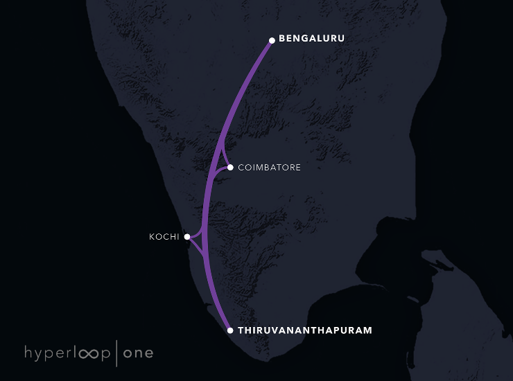 Bengaluru-Thiruvananthapuram route.