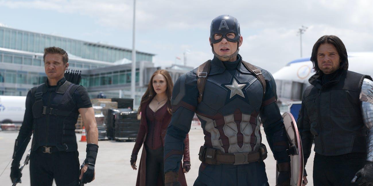 Captain America Civil War Disney Plus