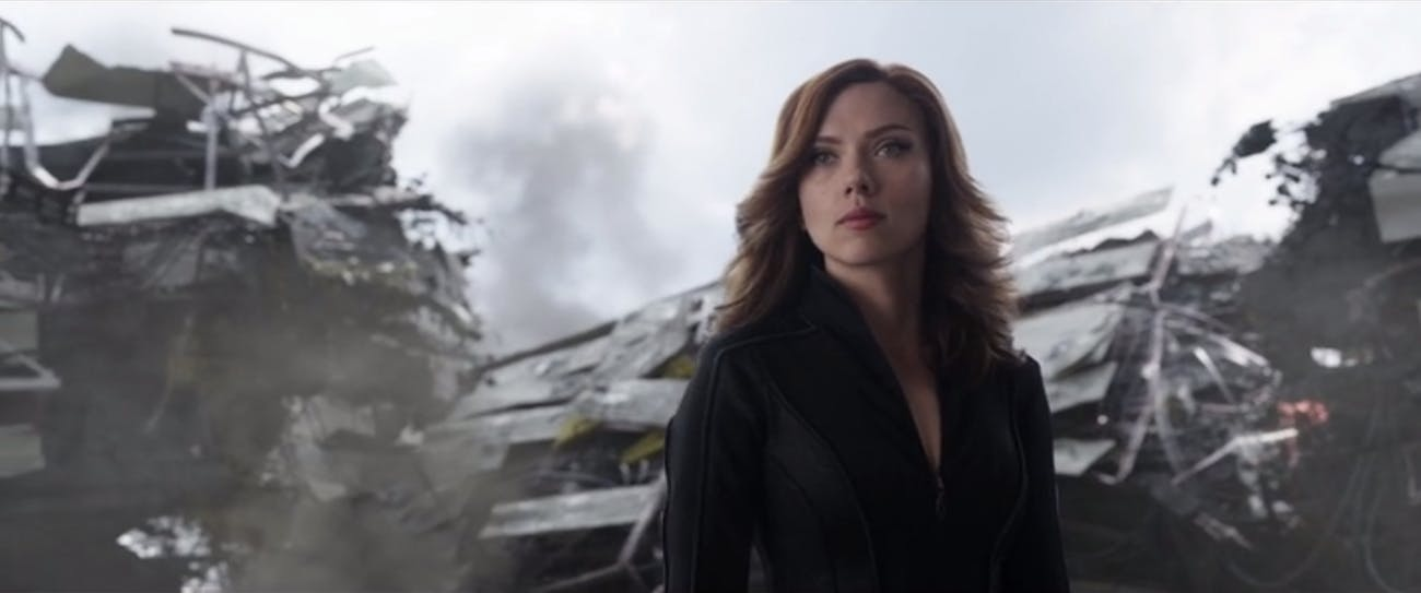 Black Widow MCU Civil War