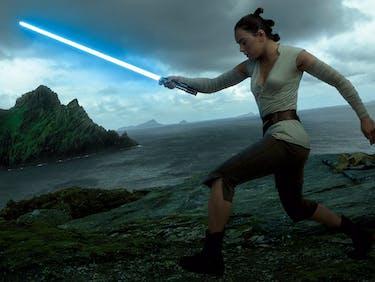 Something Incredibly Rare Happened to Luke's Lightsaber