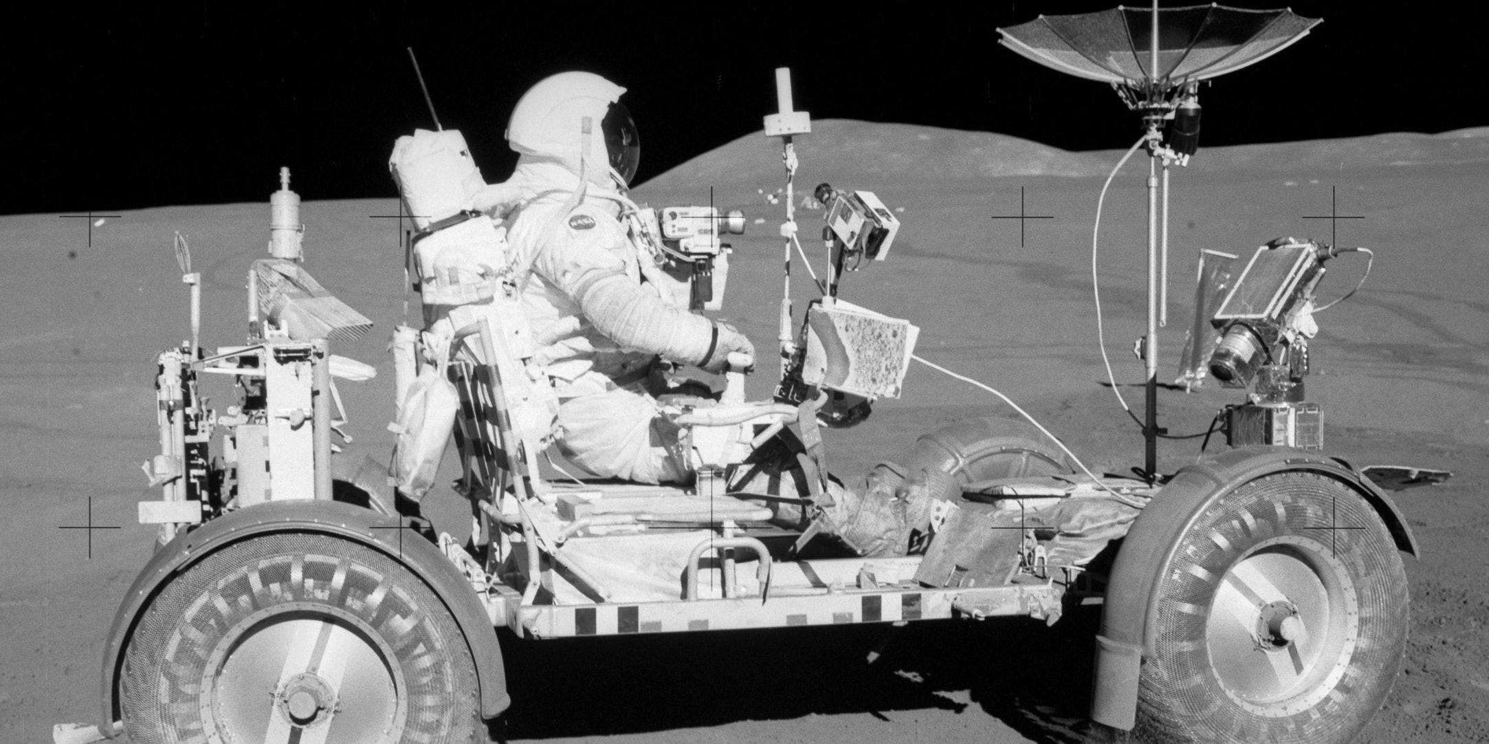 Lunar Rover Apollo 15