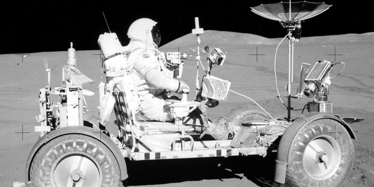 45 Years Since the First Lunar Rover Drive on the Moon ...