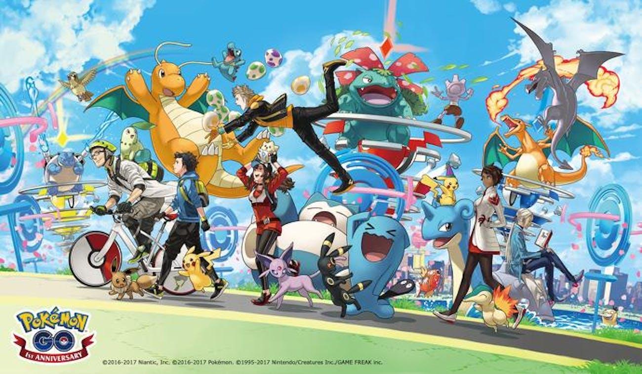 Pokemon Go First Anniversary