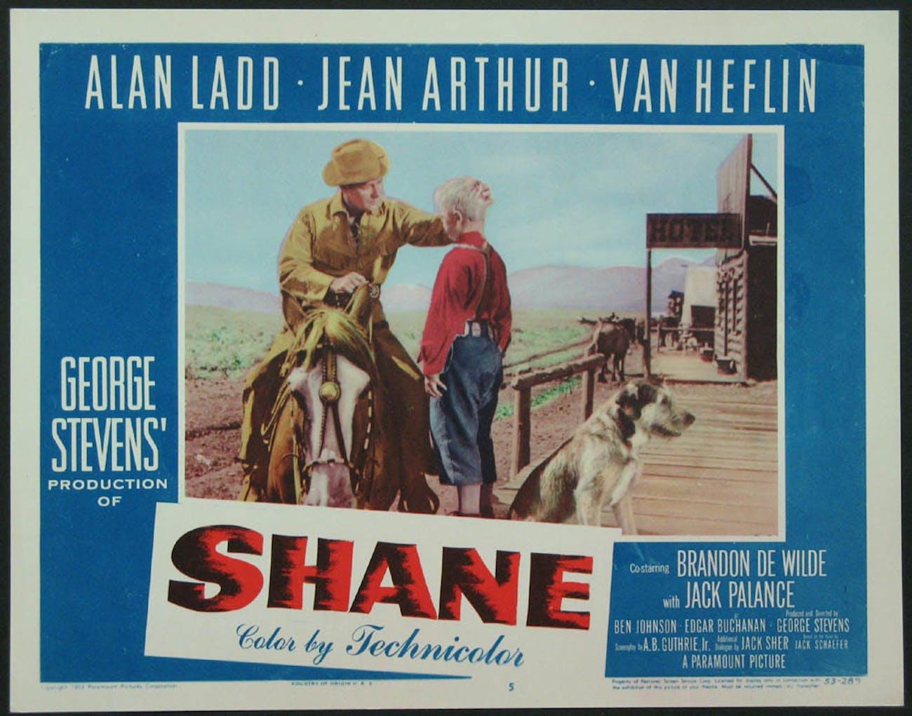 shane film analysis
