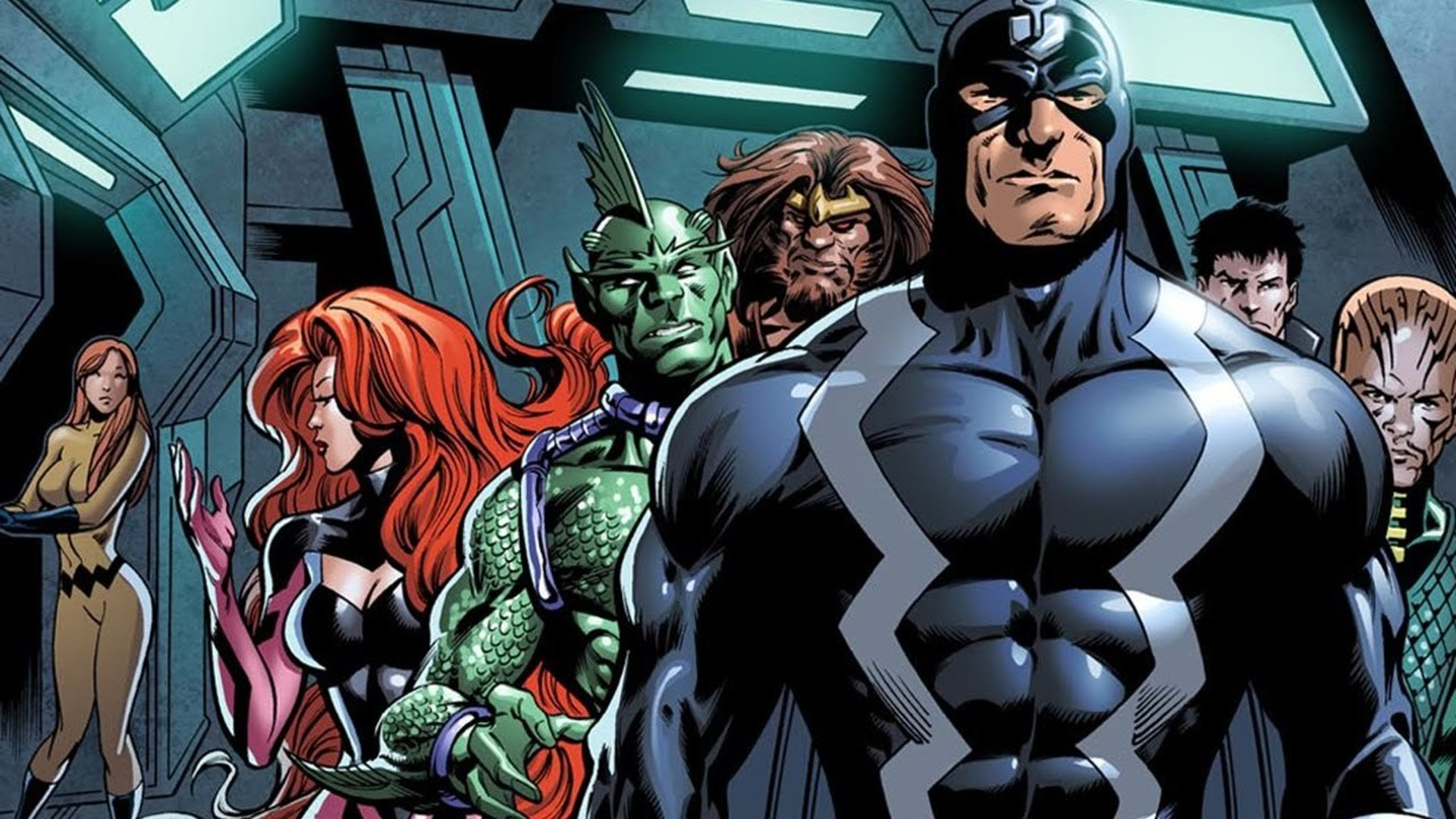 The Inhumans were downgraded from major motion picture to network TV show.