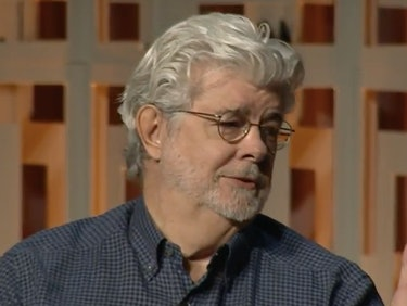George Lucas Makes Surprise Appearance at Star Wars Celebration