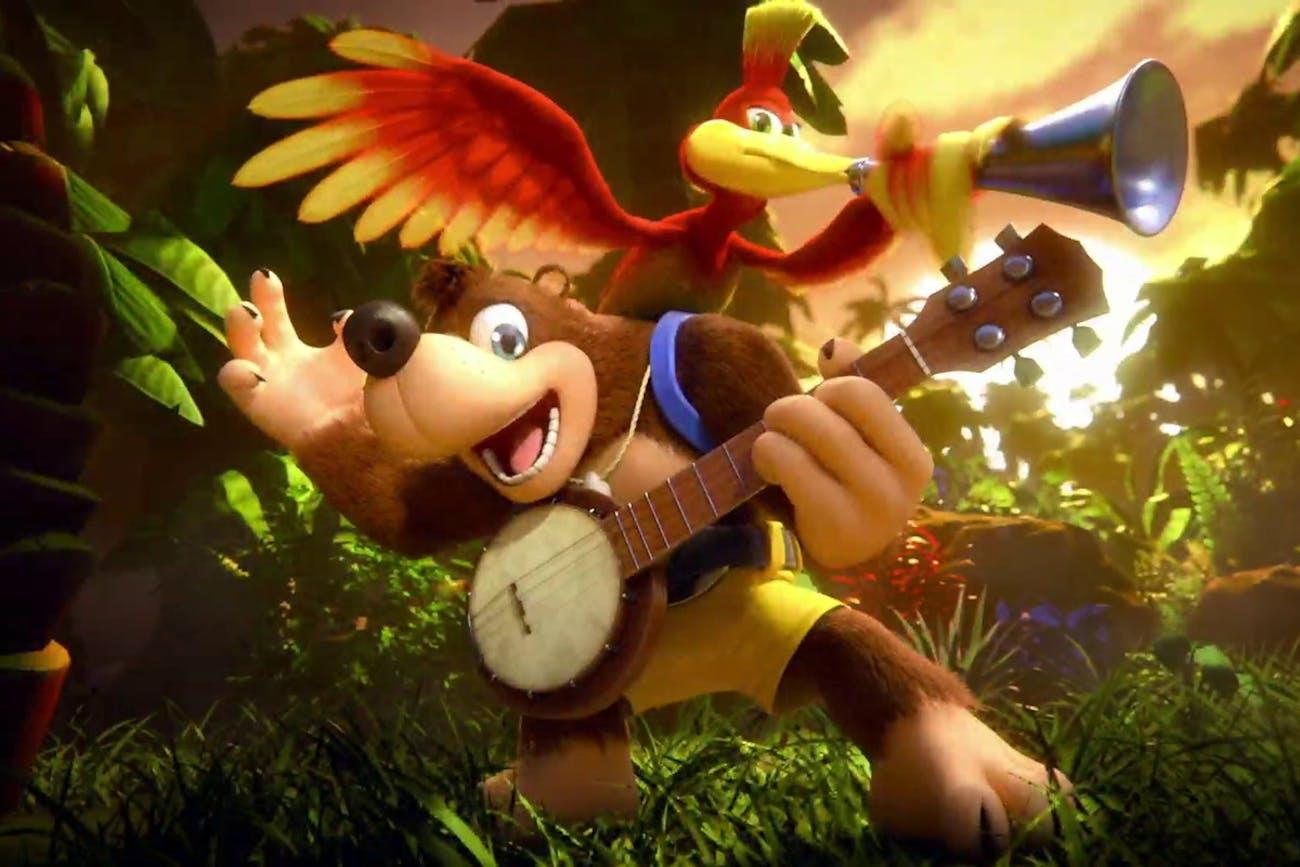 nintendo banjo and kazooie