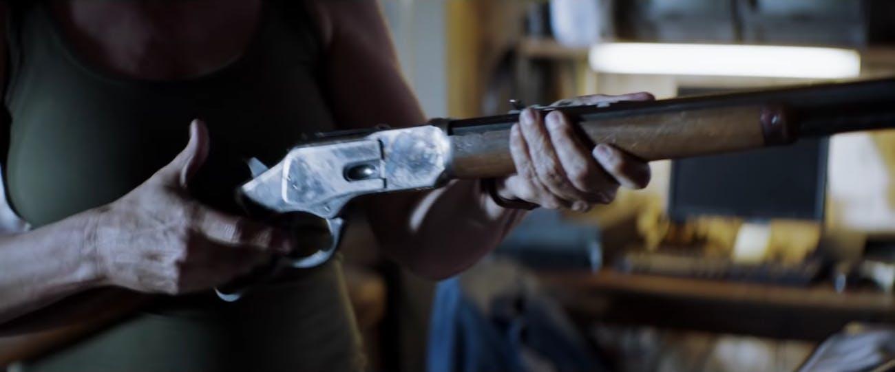 Halloween 2018 winchester laurie gun