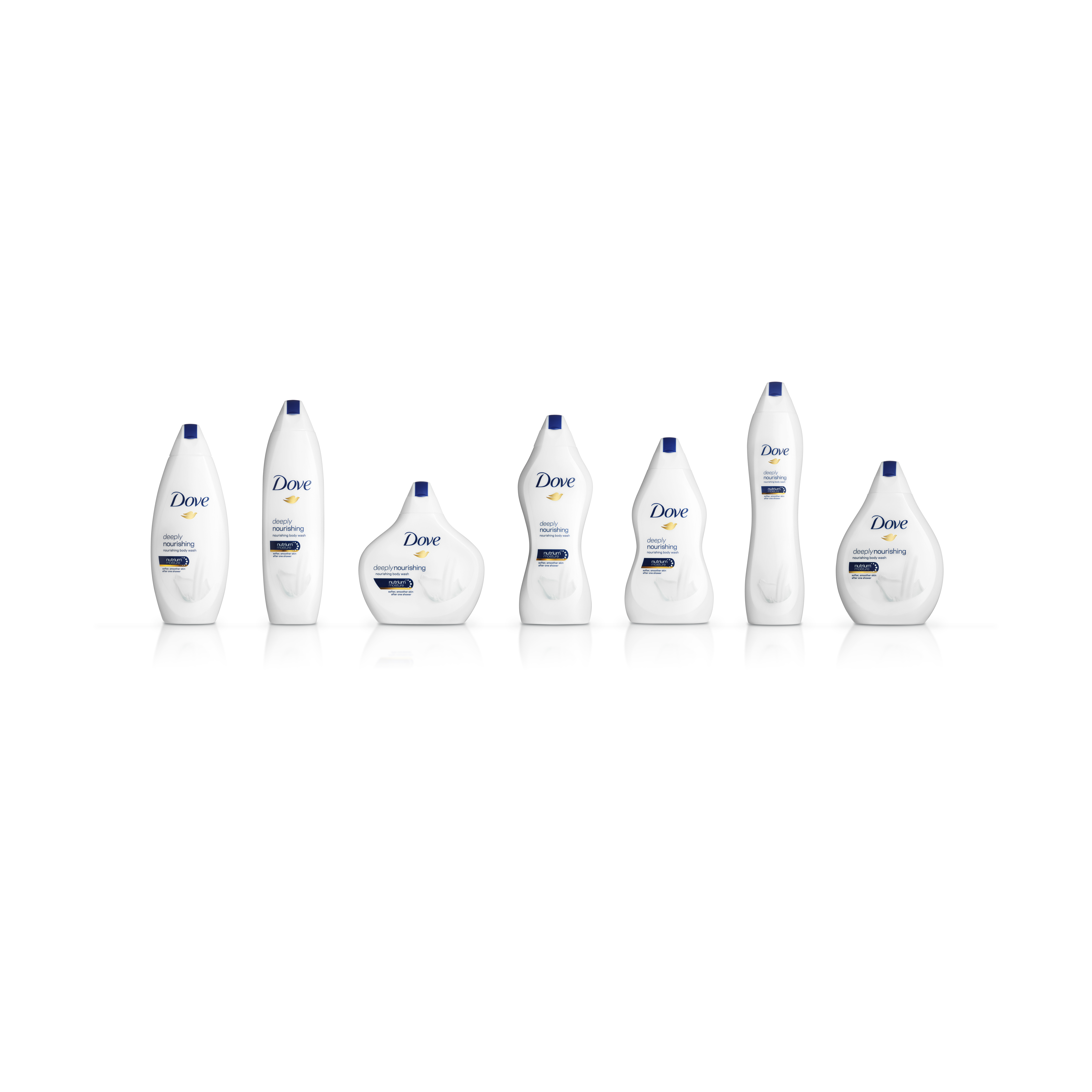 Dove releases soap bottles shaped for different body types