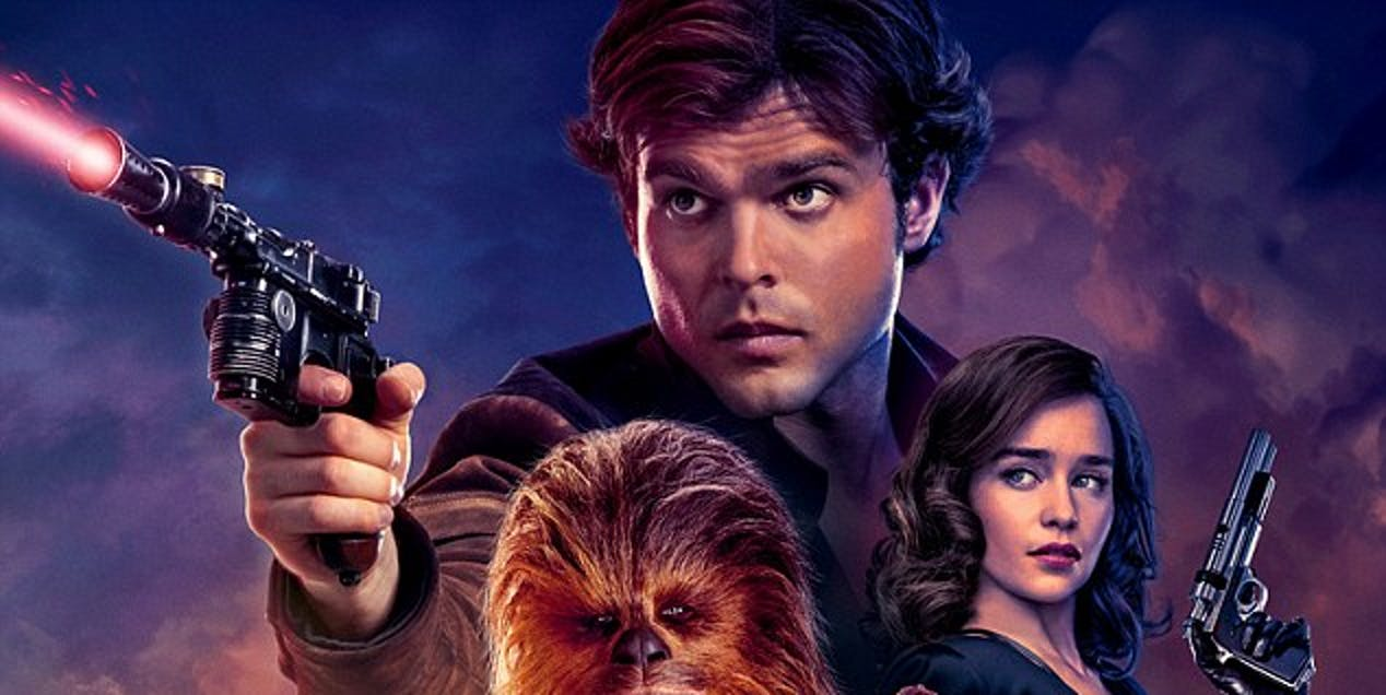 'Solo: A Star Wars Story' poster