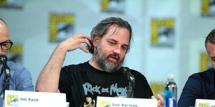 dan harmon rick and morty sirens of titan kurt vonnegut