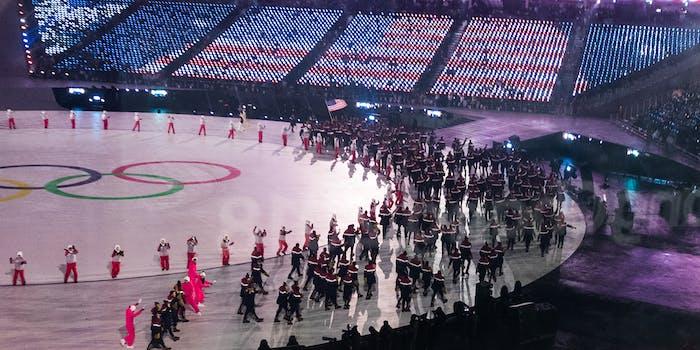 Winter Olympics Opening Ceremony